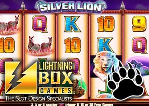 new silver lion slot lightning box