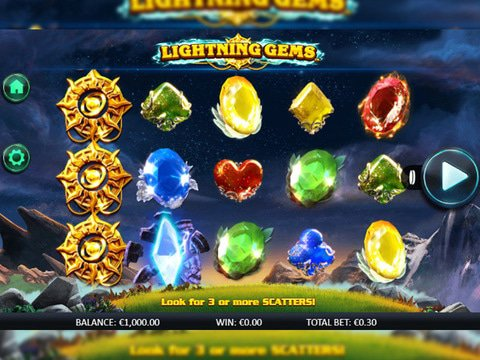Lightning Gems Game Preview