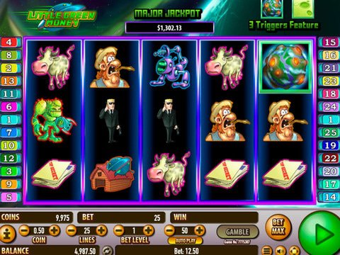 Little Green Money Slot Game Review