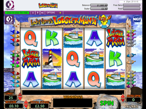 Lobstermania Slot Machine Play Free Here In No Download
