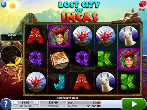 Lost City of Incas Game Preview