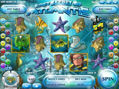 Lost Secret of Atlantis Game Preview