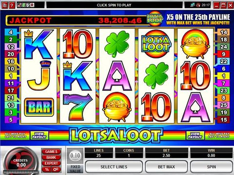 LotsALoot 5 Reel Game Preview