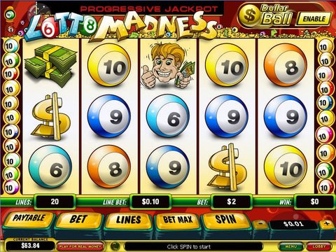 Bet On Lotto Madness Slots With No Download Required