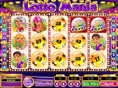 Lotto Mania Game Preview