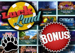 luckland casino bonus in may