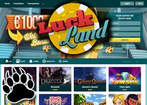 Luckland Online Casino : Loyalty Points, Reload Bonuses and more