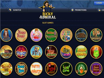 Lucky Admiral Casino Software Preview
