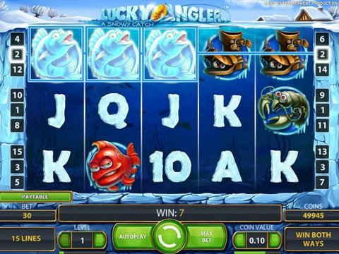 Lucky Angler A Snowy Catch Game Preview