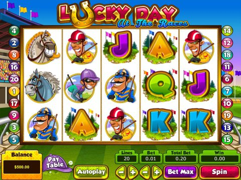 Lucky Day at the Races Game Preview