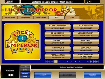 Lucky Emperor Casino Software Preview