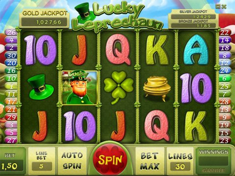 Try The Lucky Leprechaun Slots Here With No Download