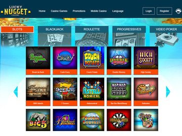 Lucky Nugget Casino Software Preview
