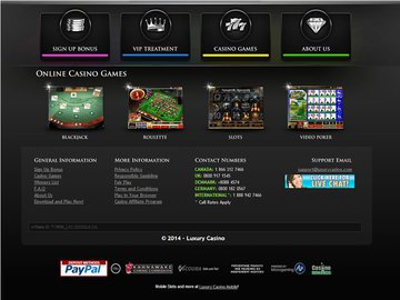 Luxury Casino Software Preview