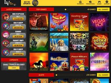 Lvbet Casino Software Preview