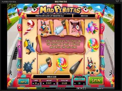 Break Open The Fun With No Download Mad PiñAtas Slots