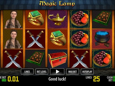 Magic Lamp HD Game Preview