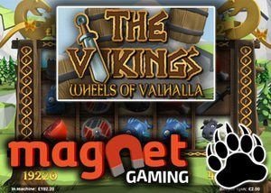 Magnet Gaming New Canadian Slot Launched - The Vikings: Wheel of Valhalla!