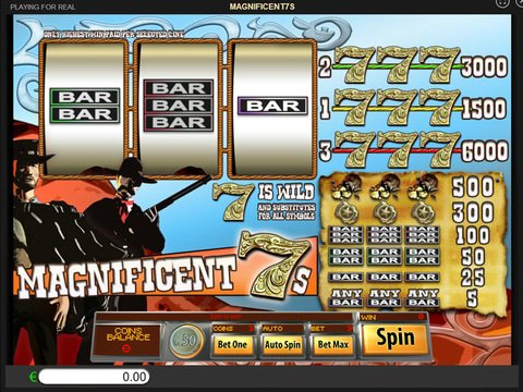 Enjoy Magnificent 7s Slots With No Download