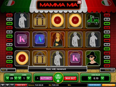Mamma Mia Game Preview