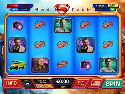 Man of Steel No Registration Slot Machine Canadian Review