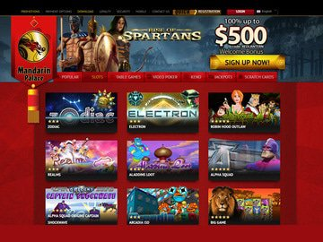 Mandarin Palace Casino Software Preview