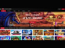 Mansion Casino Homepage Preview