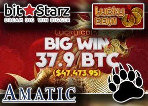 bitcoin casino win