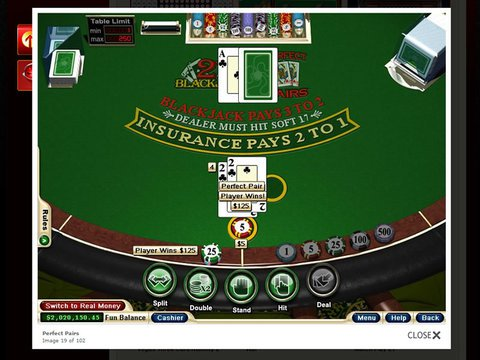 Match Play 21 - The Blackjack Game With More Than Meets The Eye!