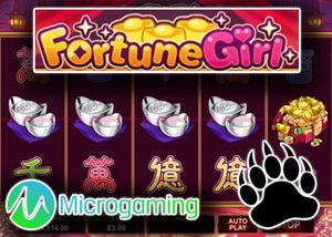 new fortune girl slot microgaming casinos