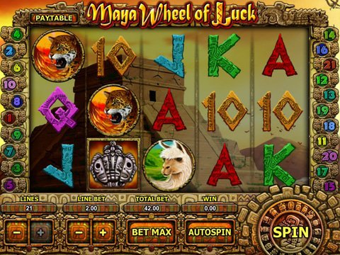 Maya Wheel of Luck Game Preview