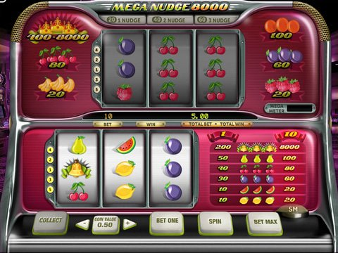 Play The Free Slot Mega Nudge 8000 With No Download