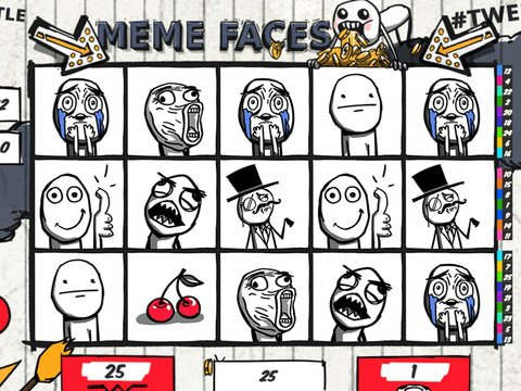 Meme Faces Slot Machine