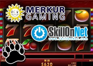 SkillOnNet casinos feature Merkur Games
