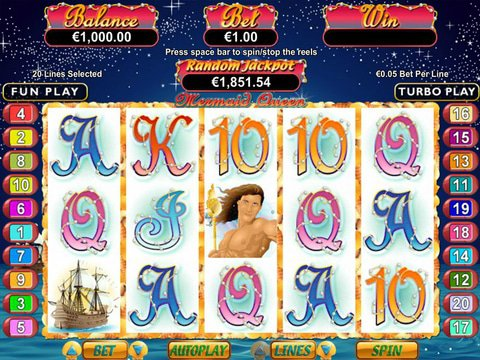Play Mermaid Queen Slot Machine Free With No Download