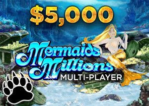 Mermaids Millions Cash Drop Promotion