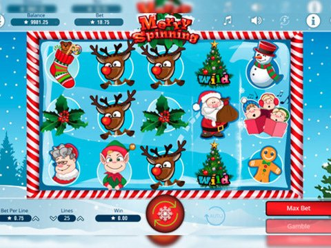 Merry Spinning Game Preview