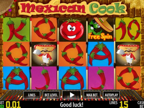 Mexican Cook Slot Machine