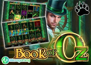 Microgaming New Book of Oz Slot