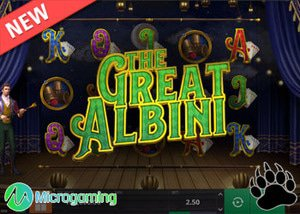 Microgaming New The Great Albini Slot