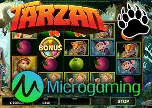 Microgaming Online Casino Release New Tarzan Slot