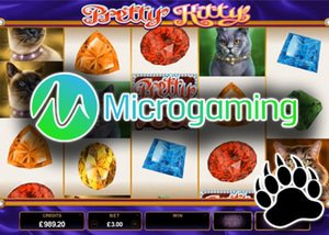 new microgaming slot - pretty kitty