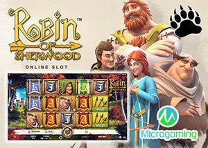 New Robin of Sherwood Slot at Microgaming Casinos