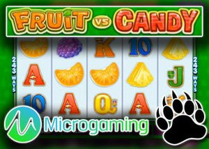 microgaming new slot fruit vs. candy