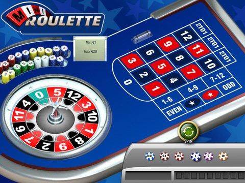 Mini Roulette Game Preview