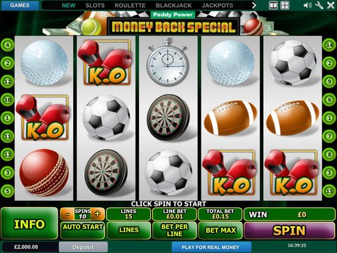 Money Back Special Game Preview