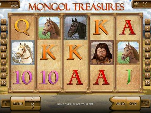 Mongol Treasures Game Preview