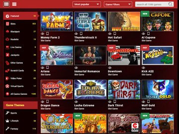 Mongoose Casino Software Preview