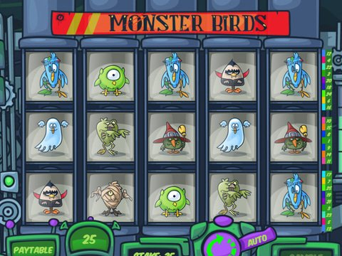 MrSlotty Monster birds Slot Free With No Download