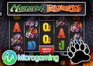 new monster wheels slot microgaming casinos